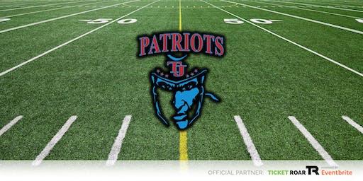 Thomas Jefferson vs North Dallas JV Football