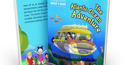 Children's Book launch 'The Atlantic Ocean Adventure'  Lynne Sesinye-Samwinga