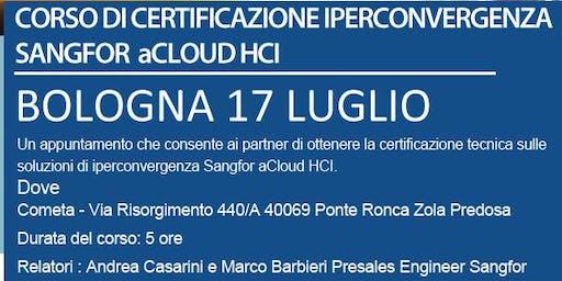 CORSO DI CERTIFICAZIONE SANGFOR - 17 LUGLIO BOLOGNA - ISCRIVITI!