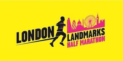 London Landmarks Half Marathon 2020 - Teach First Charity Entry
