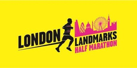 London Landmarks Half Marathon 2020 - Teach First Charity Entry tickets