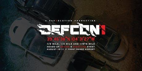 Revvolution DEFCON 1 Reloaded tickets