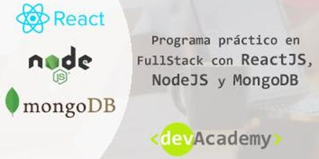 [Formación]Programa práctico en FullStack: React, Nodejs y MongoDB (30h) entradas
