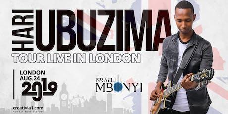 ISRAEL MBONYI LIVE IN LONDON tickets