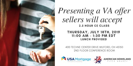 Presenting a VA Offer Sellers Will Love | CE Course tickets