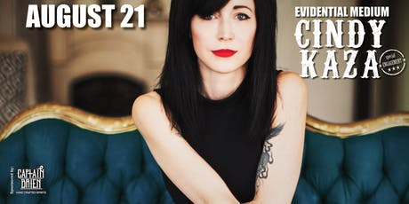 Evidential Medium Cindy Kaza Brings her Sellout show to Naples, Florida tickets