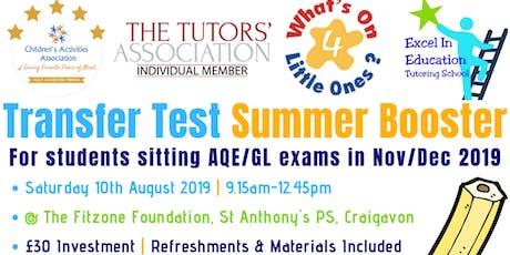 Transfer Test Summer Booster Workshop tickets