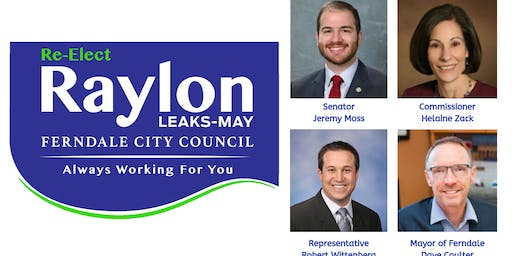 Re-Elect Raylon for Ferndale City Council Fundraiser