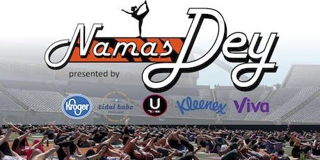 NamasDEY- Yoga on the Field tickets