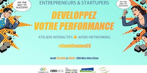 Entrepreneurs, Startupers : Développez votre performance