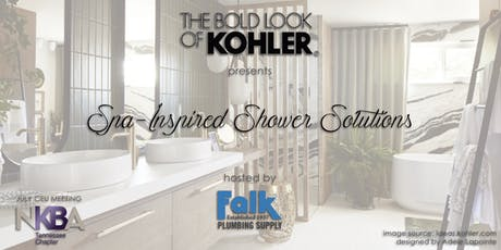 Memphis July CEU: Spa-Inspired Shower Solutions by Kohler tickets