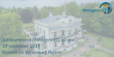Jubileumevent Managers-EQ 10 jaar