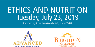Ethics and Nutrition at Brighton Gardens