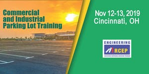 Commercial and Industrial Parking Lot Training -...