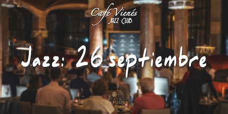 Música Jazz en directo: ARTISTA POR CONFIRMAR entradas