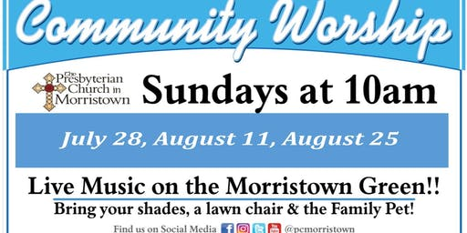 Outdoor Community Worship