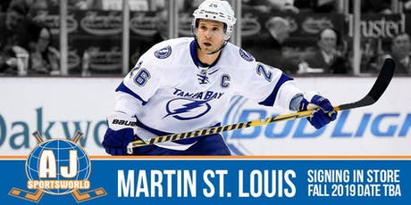Martin St. Louis  - In Store Signing tickets