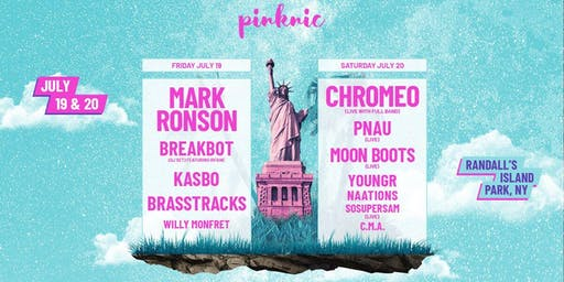 PINKNIC 2019 at Randall's Island feat. Mark Ronson, Chromeo and more!