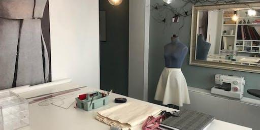"""Cours Couture pour Débutants """"Du patron à la toile en 2 heures"""" !"""