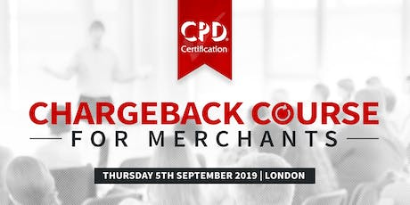 Chargeback Course for Merchants tickets