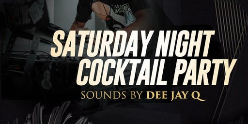 Saturday Night Cocktail Party (every Saturday) at Minerva Avenue