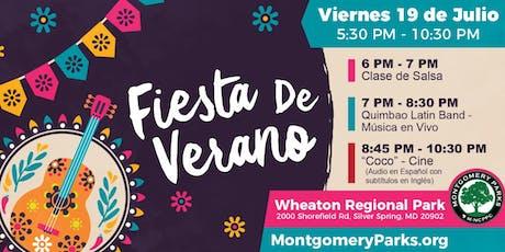 Fiesta de Verano   Summer Party  tickets
