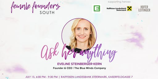 Female Founders South Meetup #3 | Eveline Steinberger-Kern