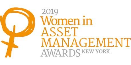 Women in Asset Management Awards, New York 2019 tickets