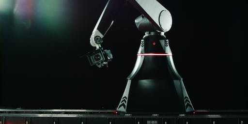 Meet The Rocket Cinema Robot