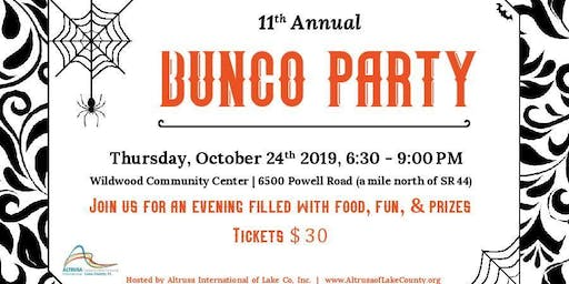 11th Annual Altrusa Bunco Party