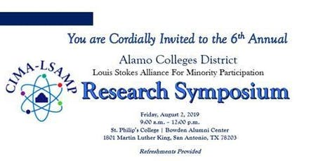 CIMA-LSAMP 6th Annual Research Symposium tickets