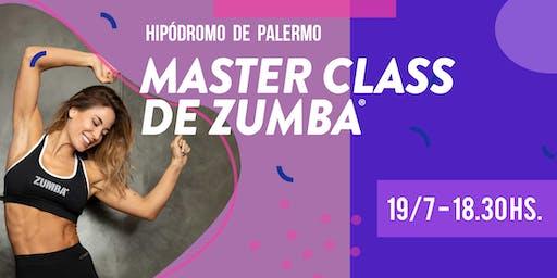 Master Class de Zumba con Jesica Cirio