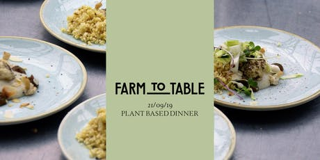Farm to Table - Saturday tickets