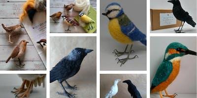 Needlefelting Birds Workshop – 6.5hrs