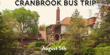 Cranbrook House and Gardens Bus Trip tickets