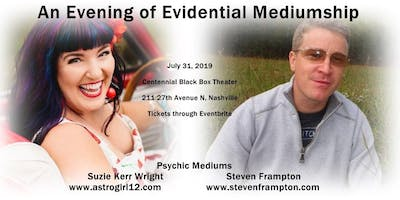 Group Mediumship with Two Mediums Suzie Kerr Wright and Steve Frampton