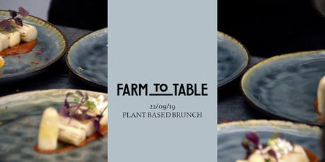 Farm to Table - Sunday tickets