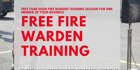 Fire Warden Training  tickets