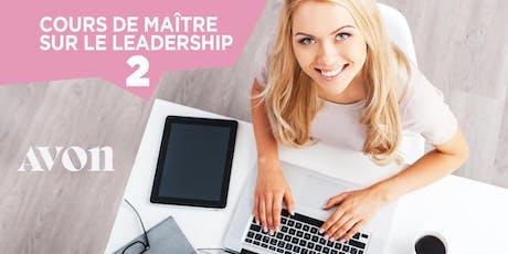 Cours de maître sur le Leadership -Quebec billets