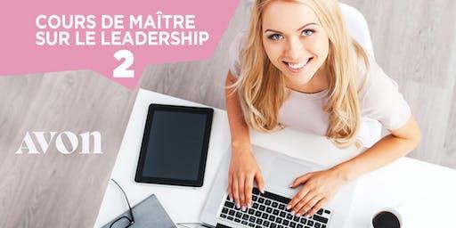 Cours de maître sur le Leadership -Quebec $100