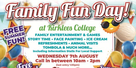 Free Family Fun Day  tickets