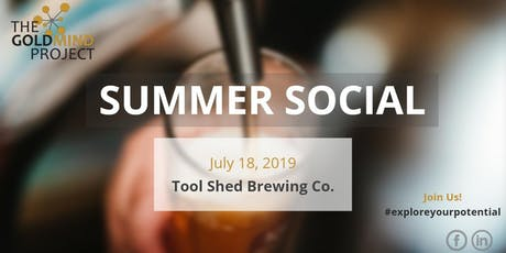 The GoldMind Project- Summer Social tickets