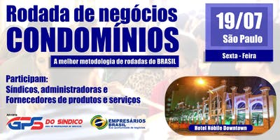 Rodada de negócios - CONDOMÍNIOS - 19-07-2019 (A