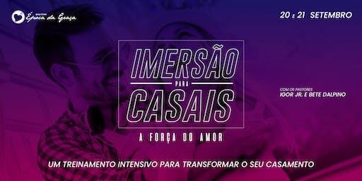 IMERSÃO PARA CASAIS - A FORÇA DO AMOR