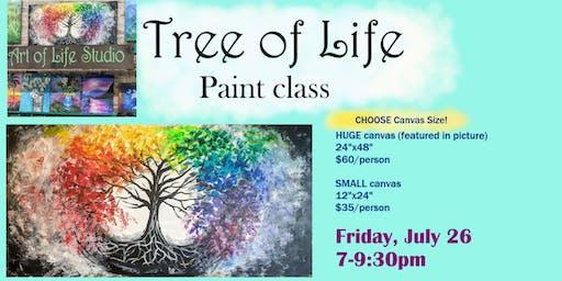 Paint Night: Tree of Life