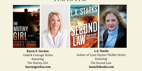 Two Texas Authors:  Thriller, Action & Mystery  tickets