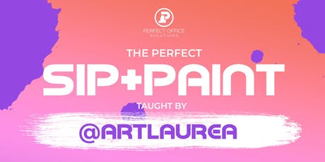 The Perfect Sip & Paint (July) tickets