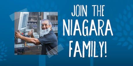 Niagara Bottling Job Fairs - Allentown, PA - July 17, August 14 and September 11 tickets