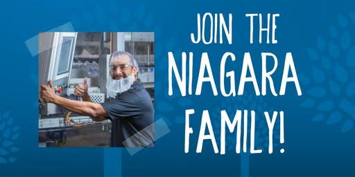 Niagara Bottling Job Fairs - Allentown, PA - July 17, August 14 and September 11