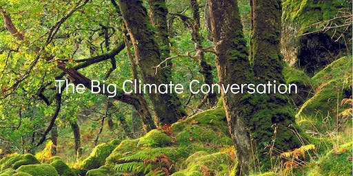 The Big Climate Conversation Youth Event in Stirling